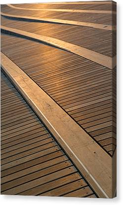 Shapes Canvas Print - Boardwalk by Sebastian Musial