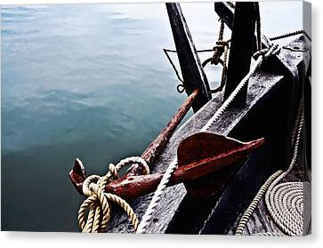Boat Anchor Canvas Print