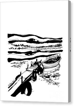 Boat Canvas Print by Cristina Jaco