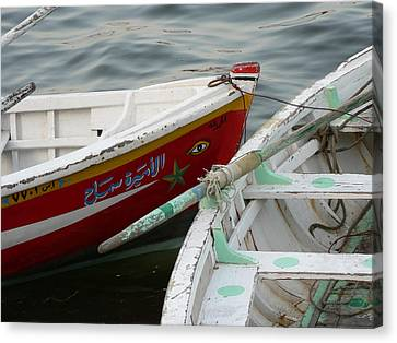 Boat Eye Canvas Print by James Lukashenko