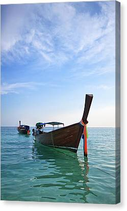 Boat In Libe Island  Canvas Print