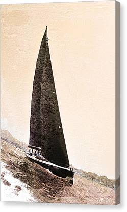 Boat  Canvas Print by Jean Francois Gil