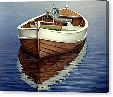 Boat Canvas Print by Natalia Tejera
