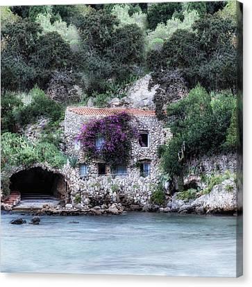 Boathouse Canvas Print by Joana Kruse