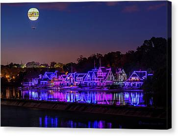 Boathouse Row Canvas Print by Marvin Spates