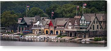 Boathouse Row Philadelphia Pa  Canvas Print by Terry DeLuco