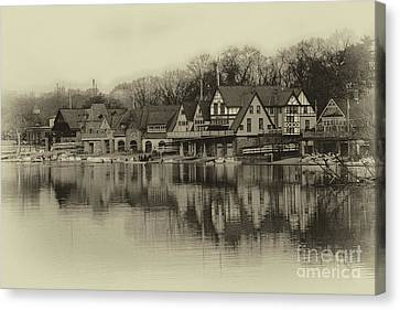 Kelly Drive Canvas Print - Boathouse Row by Tom Gari Gallery-Three-Photography