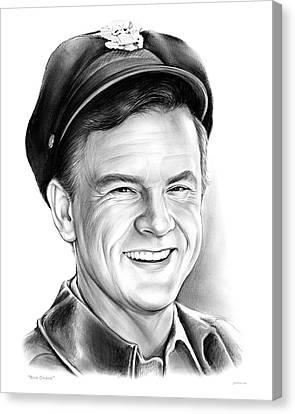 60s Canvas Print - Bob Crane by Greg Joens