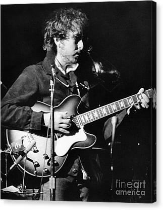 Bob Dylan (1941- ) Canvas Print by Granger