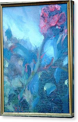 Bob Hope Rose Canvas Print by Bryan Alexander