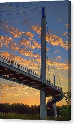 Bob Kerry Bridge At Sunrise Canvas Print