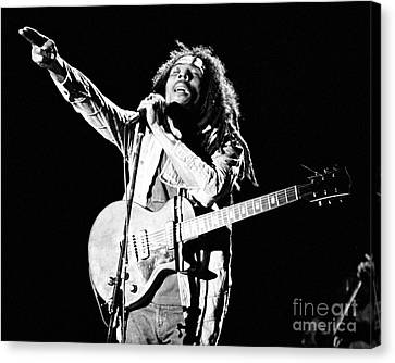 Bob Marley 1978 Canvas Print by Chris Walter