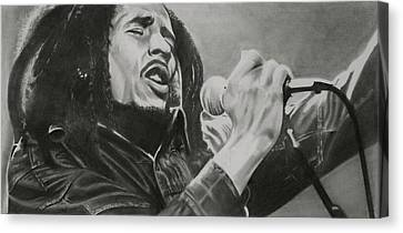 Bob Marley Canvas Print by Don Medina