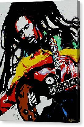 Bob Marley Canvas Print by Eddie Lim