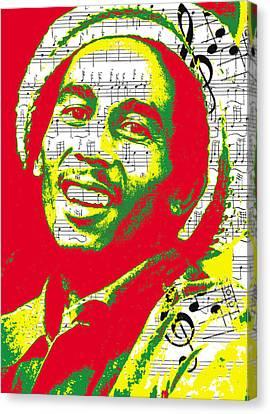 Bob Marley Musical Legend Canvas Print