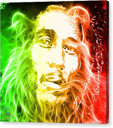 Bob Marley Canvas Print by The DigArtisT