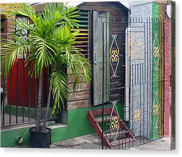 Bob Marley's Home In Kingston Canvas Print by Dianne Levy