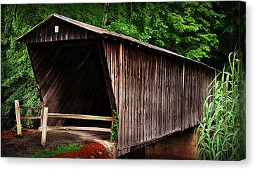Bob White Bridge Canvas Print by Eric Liller