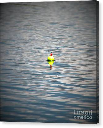 Bobber For Two Canvas Print