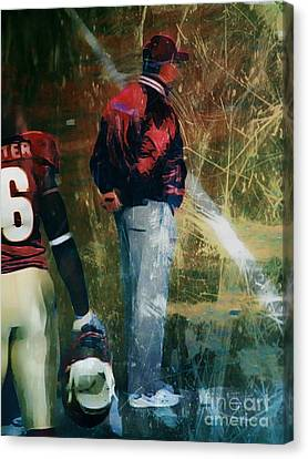 Bobby Bowden Canvas Print by Paul Wilford