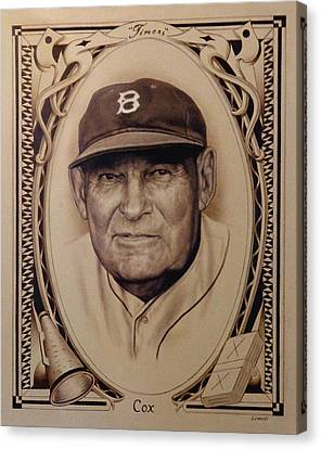 Bobby Cox Canvas Print - Bobby Cox by Garry Limuti
