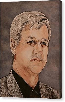 Bobby Orr Canvas Print by Betty-Anne McDonald