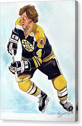 Bobby Orr Canvas Print by Dave Olsen