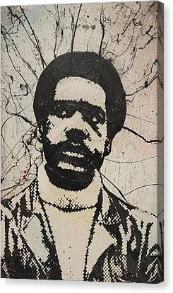 Bobby Seale - Black Panther Canvas Print by Dustin Spagnola