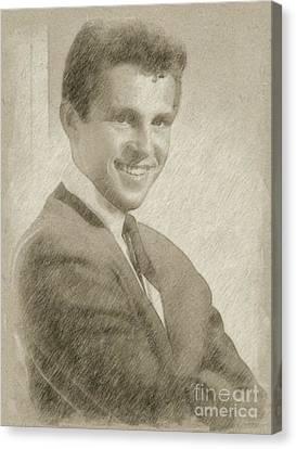Noir Canvas Print - Bobby Vinton, Singer by Frank Falcon