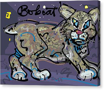 Bobcat Canvas Print by Brett LaGue