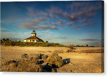 Boca Grande Florida Canvas Print by Marvin Spates