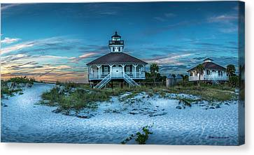 Navigation Canvas Print - Boca Grande Lighthouse by Marvin Spates
