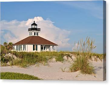 Boca Grande Lighthouse Canvas Print by Steven Scott