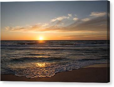 Boca Grande Sunset Canvas Print by John Black