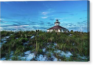 Cupola Canvas Print - Boca Lighthouse by Marvin Spates