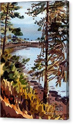 Bodega Bay Canvas Print by Donald Maier