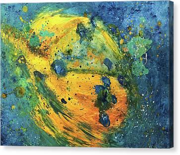 Bodhisattva Canvas Print by Christine Cibula