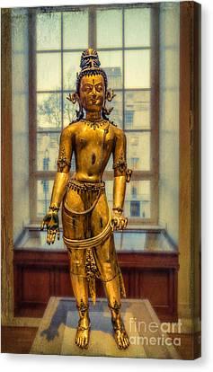 Bodhisattva Canvas Print - Bodhisattva Avalokiteshvara by Adrian Evans