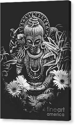 Canvas Print featuring the photograph Bodhisattva Parametric by Sharon Mau