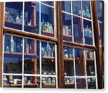 Bodie Bottles #2 Canvas Print
