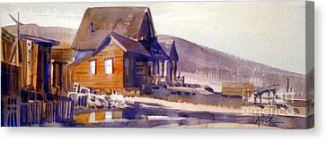 Bodie California 1979 Canvas Print by Donald Maier