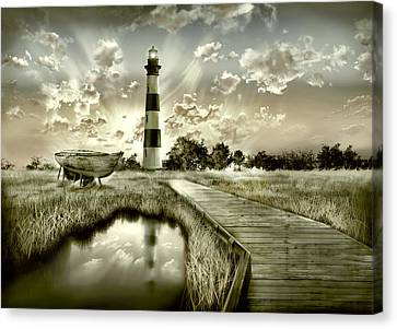 Bodie Island Lighthouse 3 Canvas Print