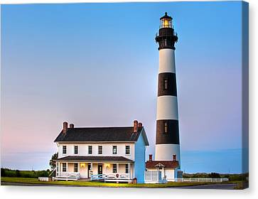Bodie Island Lighthouse Canvas Print by Bernard Chen