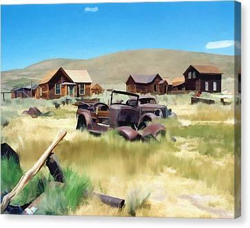 Bodie Canvas Print by Kurt Van Wagner