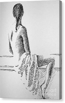 Body Language Canvas Print by Tanni Koens