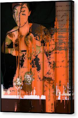 Body Of Rust Canvas Print