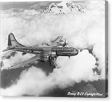 Boeing B-29 Superfortress Canvas Print by Underwood Archives
