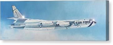 Aviationart Canvas Print - Boeing B-52d Stratofortress  by Douglas Castleman