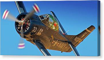 Boeing North American T-38 Race 66 Reno Air Races 2010 Canvas Print