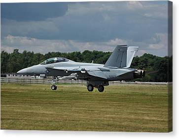 Boeing Super Hornet  Canvas Print by Tim Beach